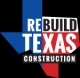 Rebuild Texas Construction