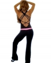 WAISTBAND PANTS & CRISS CROSS BODY SUIT
