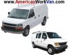 Cargo Van Window Safety Screens - FORD, GMC, Chevy