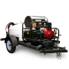 Shark Commercial 3000 PSI Gas-Hot WaterTrailer Pressure Washer