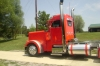 Selling Red 2000 379 PETERBILT DAY CAB
