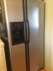 Selling GE  Stainless Steel  side by side refrigerator with water