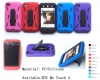Cellular iphone 4 shockproof robot cover case