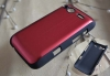 PC chromed aluminum metallic back cover case for iphone,HTC,Samsung