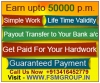 HOME BASED INTERNET JOB, COPY & PASTE ONLINE JOB, WORK FROM HOME OPPORTUNITY, GUARANTEED MONTHLY INC