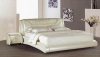 Contemporary leather bed-S8005(YISO FURNITURE)